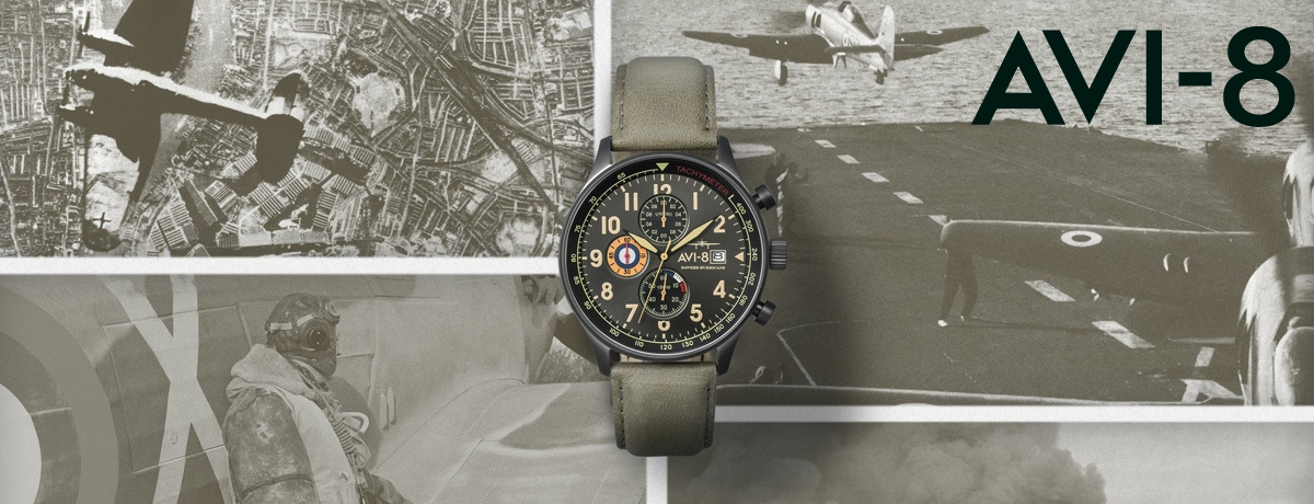 Passion aviation montres AVI-8